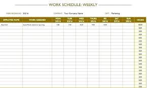 Blank Schedule Blank Weekly Calendars 4 Week Calendar Work Schedule