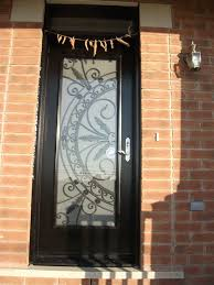 custom doors fiberglass single front full glass installed by front entry doors in miltondoor