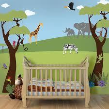 ▻ kids room : Kids Rooms Amazing Jungle Wallpaper Room Murals ...