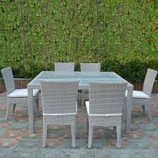 ratan dining table 6 chair rattan dining table set rattan dining table round glass top rattan