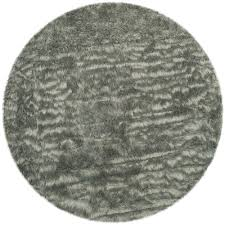 safavieh faux sheepskin gray 4 ft x 4 ft round area rug