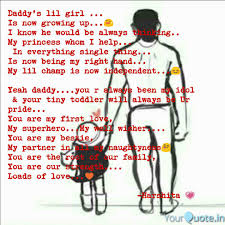 Daddy\'s Little Girl Quotes Simple Daddy's Lil Girl Is N Quotes Writings By Harshita