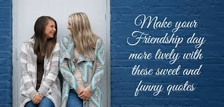 Quotes About Friendship With Pictures Enchanting 48 Sweet And Funny Quotes For Friendship Day Picovico Birthday