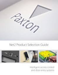 Paxton Access Multiformat Red Light Net2 Product Selection Guide Paxton Manualzz Com