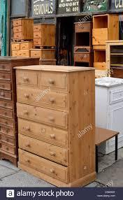 second hand furniture shop new cross london uk stock photo