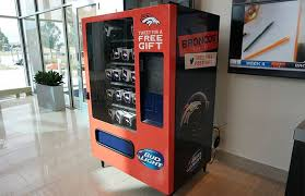 Healthy Vending Machines Denver Simple Denver Broncos Hop On Board The Twitter Vending Machine Trend