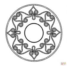 Small Picture Celtic Mandala coloring page Free Printable Coloring Pages