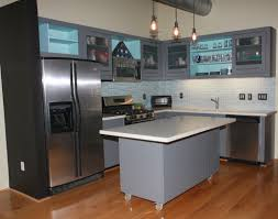 Old Metal Kitchen Cabinets Industrial Kitchen Set Images Dezignable Inspiration Blog Home