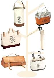 leather klein tool bags tools and buckets bag uk