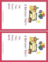 Design Your Own Invitations Free Make Birthday Online Printable