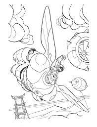 Kleurplaat Disney Kleurplaat Big Hero 6 Animaatjesnl