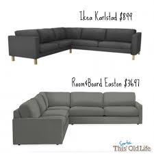 ikea investment furniture sectionals leather sectional this sorta old life love letter comparison recliner couch dresser
