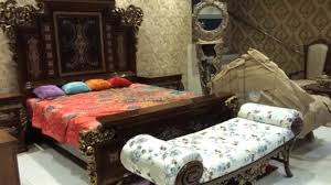Chinioti Bed Designs 2019 Chiniot Furniture Pakistan Designer Furniture Market Bed Set Sofas Tables Chairs With Price