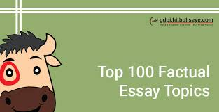 essay topics list of essay topics