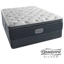 queen mattress pillow top. Beautiful Pillow Crystal Ridge Luxury Firm Pillowtop Queen Mattress And Foundation Set By  Beautyrest Silver Intended Pillow Top L