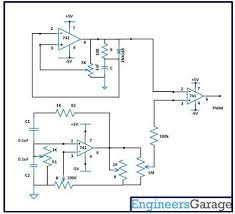 pulse width demodulation circuit design comparator circuit