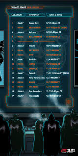 chicago bears on twitter make our 2018 schedule your wallpaper and take it wherever you go monstersofthemidway