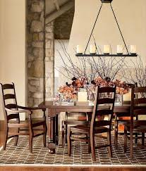 chandelier for dining room. Rustic Chandelier Dining Room Table Set For
