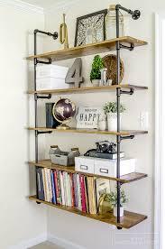 industrial style corner shelf luxury orc 3 industrial farmhouse pipe shelves unoriginal mom