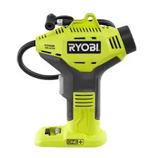 ryobi 18 volt one cordless power inflator tool only