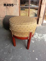 round vintage dressing table stool d 420 h 480