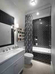 Black And White Bathroom Black White Bathroom Tjihome