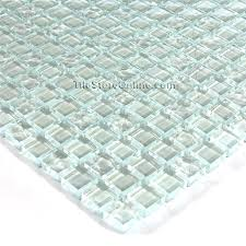 clear glass tile 5 8 x 5 8 glass tile mosaic clear rippled glossy mix iridescent clear glass tile