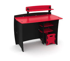 com legaré kids furniture race car series collection no tools assembly 43 inch complete desk system with file cart red and black kitchen dining