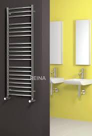 REINA EOS STAINLESS STEEL HEATED TOWEL RAILS