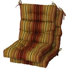 outdoor furniture cushions image of high back