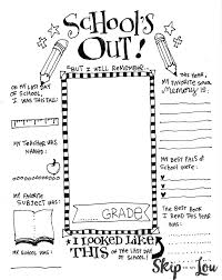 Small Picture Free Printable Last Day Of School Sign And Of Coloring Pages glumme