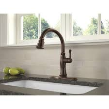 Discontinued Delta Kitchen Faucets Delta Faucet 9197t Dst Cassidy Polished Chrome Pullout Spray
