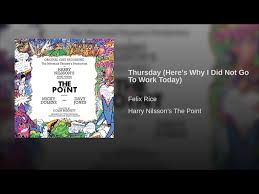 Thursday (Here's Why I Did Not Go To Work Today) - YouTube