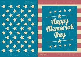Template Vintage Memorial Day Download Free Vectors