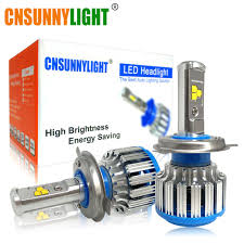 Cnsunnylight H4 H13 Hilo Auto Led Koplamp High Power Hb2 9003 9007