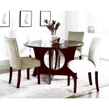large picture of coaster furniture castana 101661 round dining table with pedestal base hd