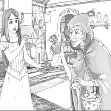 Aanzoek Prins Aan Prinses Kleurplaat