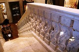 office large size step up to a signature staircase realm of design inc custom designed beautiful custom interior stairways