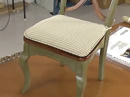 how to make furniture covers. Tie On Chair Pad How To Make Furniture Covers