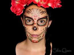 sugar skull makeup using temporary tattoos sugar skull makeup using temporary tattoos