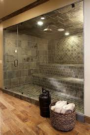 Nice in-home spa shower | Dream House | Pinterest | Spa shower, Spa and  Bench seat