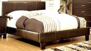 faux leather queen bed brown faux leather full bed ireland queen faux leather bed black