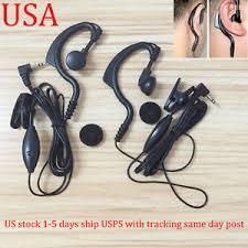 motorola walkie talkie earpiece. 2x headset/earpiece mic for motorola radio talkabout walkie talkie new -us stock earpiece t