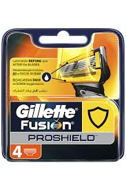 <b>Кассеты GILLETTE Fusion 4шт</b> GILLETTE (Гиллетте) арт GIL ...