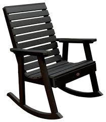 contemporary outdoor rocking chairs. weatherly rocking chair, eco-friendly synthetic wood contemporary- contemporary outdoor chairs