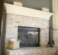 How To Whitewash Brick First Project 2011 Whitewash Brick Love It Cleverly Inspired