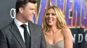 Scarlett Johansson und Colin Jost haben ...