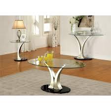 piece metal coffee table set