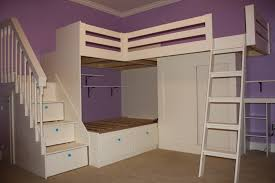 Bunk Bed Stairs Plans Loft Beds Terrific Loft Bed Stairs Plans Design Kids Bedroom