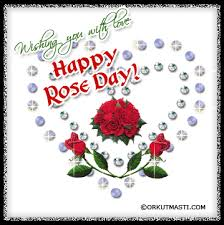 wishing you with love happy rose day